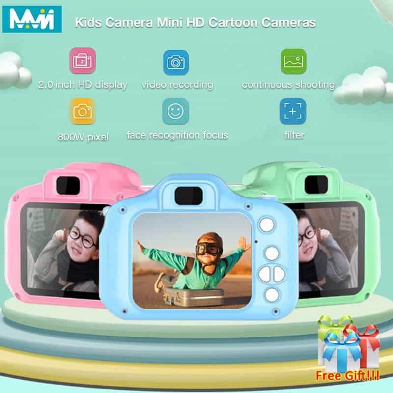 Capture Early Childhood Memories In These Digital Cameras